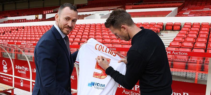 Danny-Collins-Signs-Football-Shirt